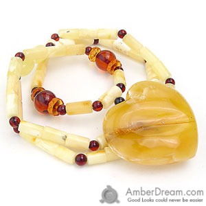 Amber teething necklace | Baltic amber necklaces - BabyAmberTeething